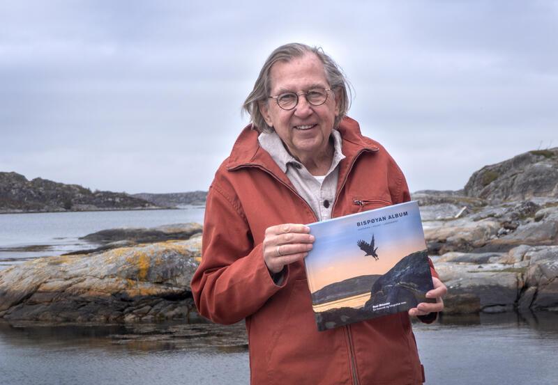 Roar Øhlander med sitt nyeste prosjekt: Bispøyan Album (Foto/Photo)