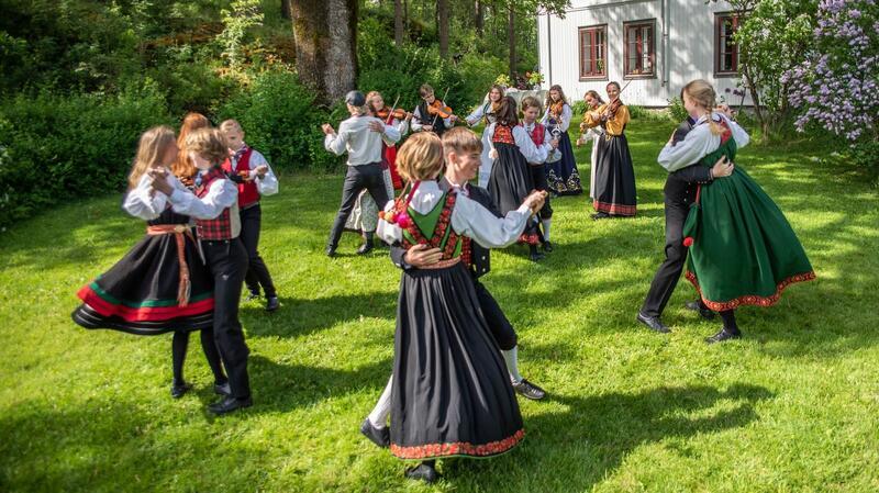 BØLINGen, et ungdomsprosjekt innen folkemusikk og folkedans drevet av Akershus Musikkråd. (Foto/Photo)
