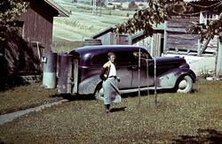 D-2602 Chevrolet 1939 varebil med generator for knottfyring,