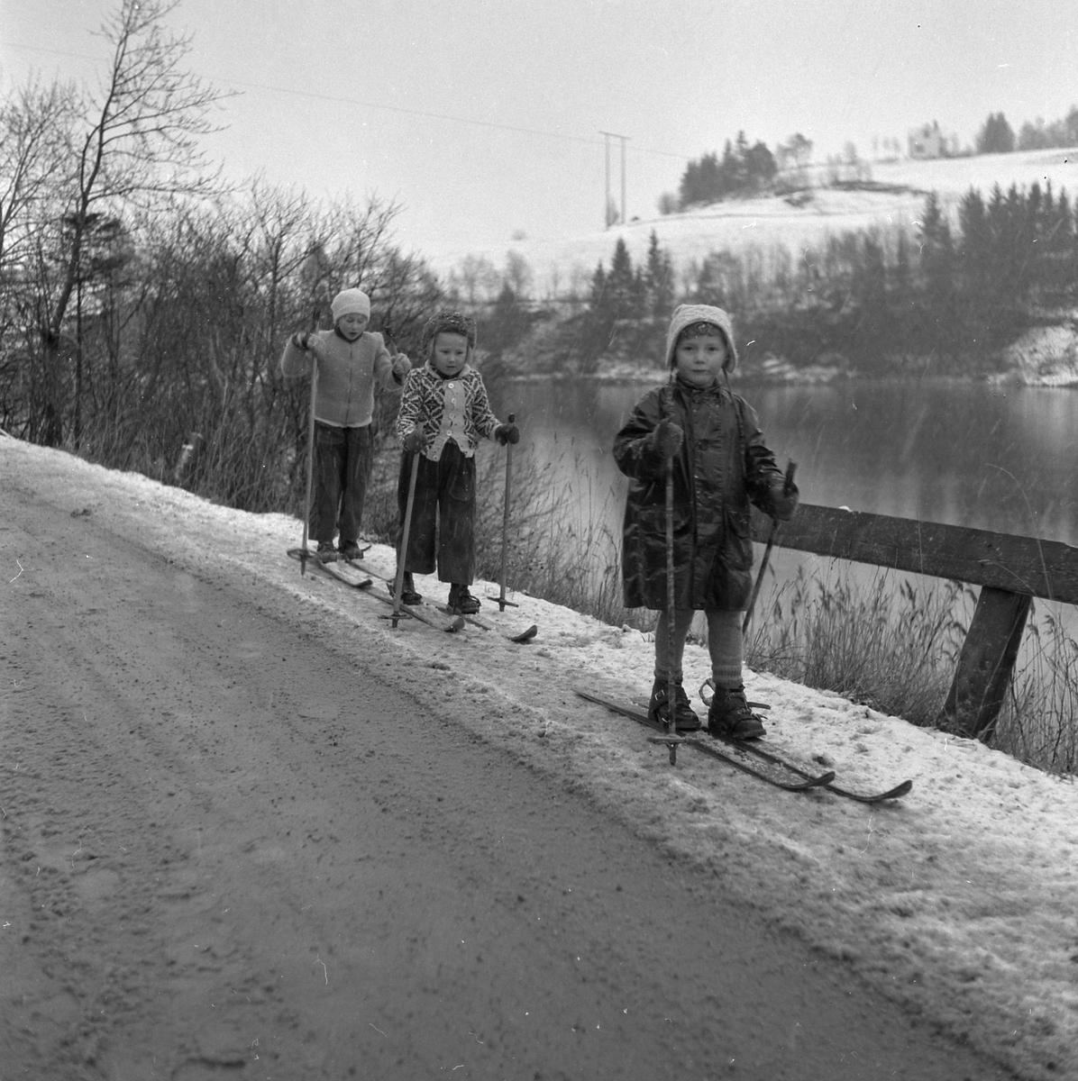Første dag med skiføre