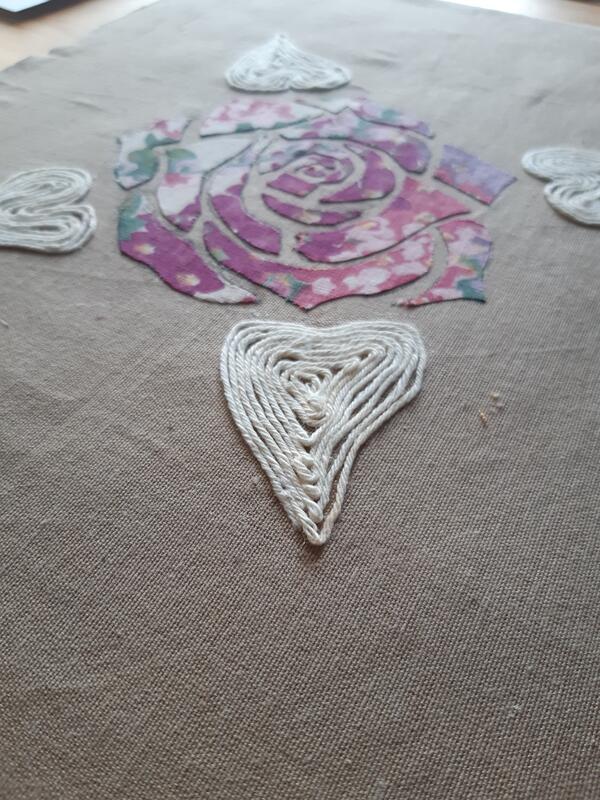 Rose tekstil (Foto/Photo)