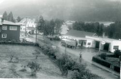 Stølsruta frå Åsgardo ved Viko Auto,til venstre Gol Hotel og