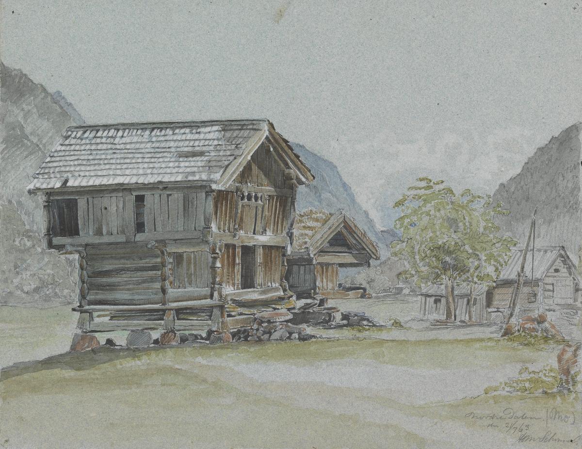 Nordre Dalen [Tegning]