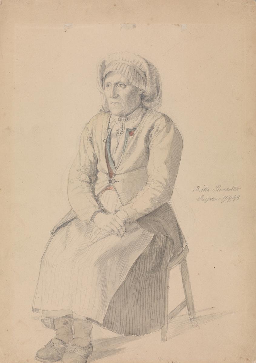 Britta Peersdotter Reisæter, Ullensvang [Tegning]