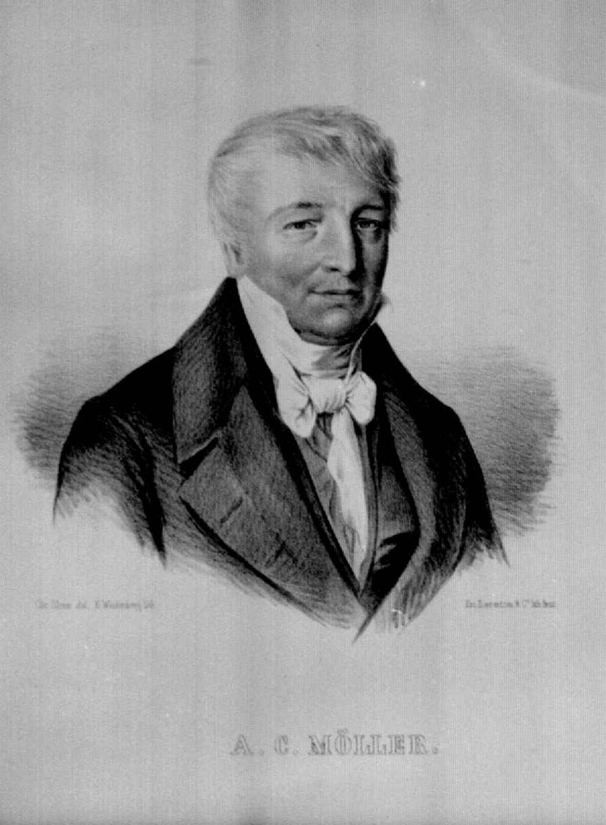 Portrett av Alexander Christian Møller.