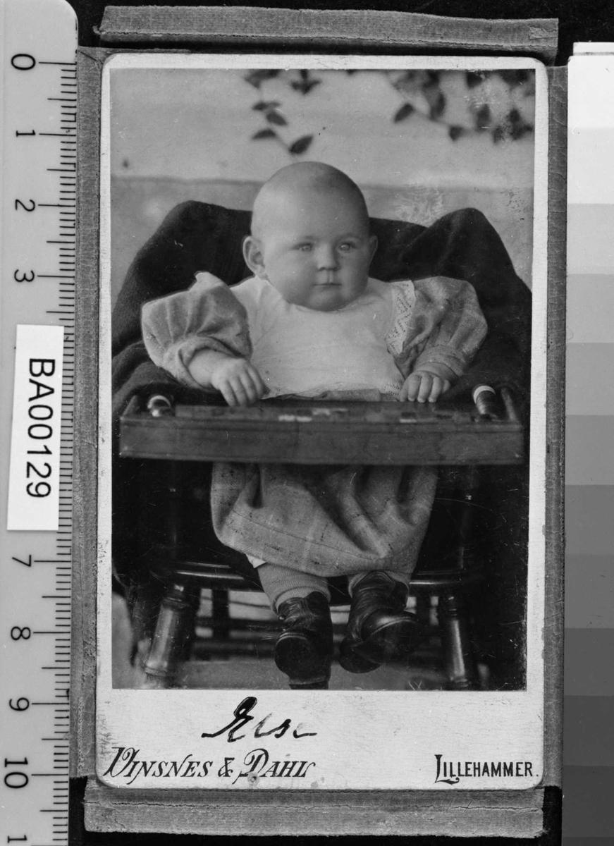 Else Bjørnson, barneportrett,