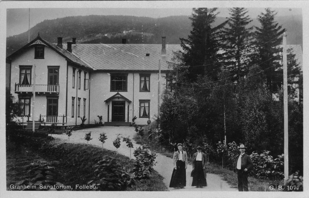 Granheim Sanatorium, postkort,