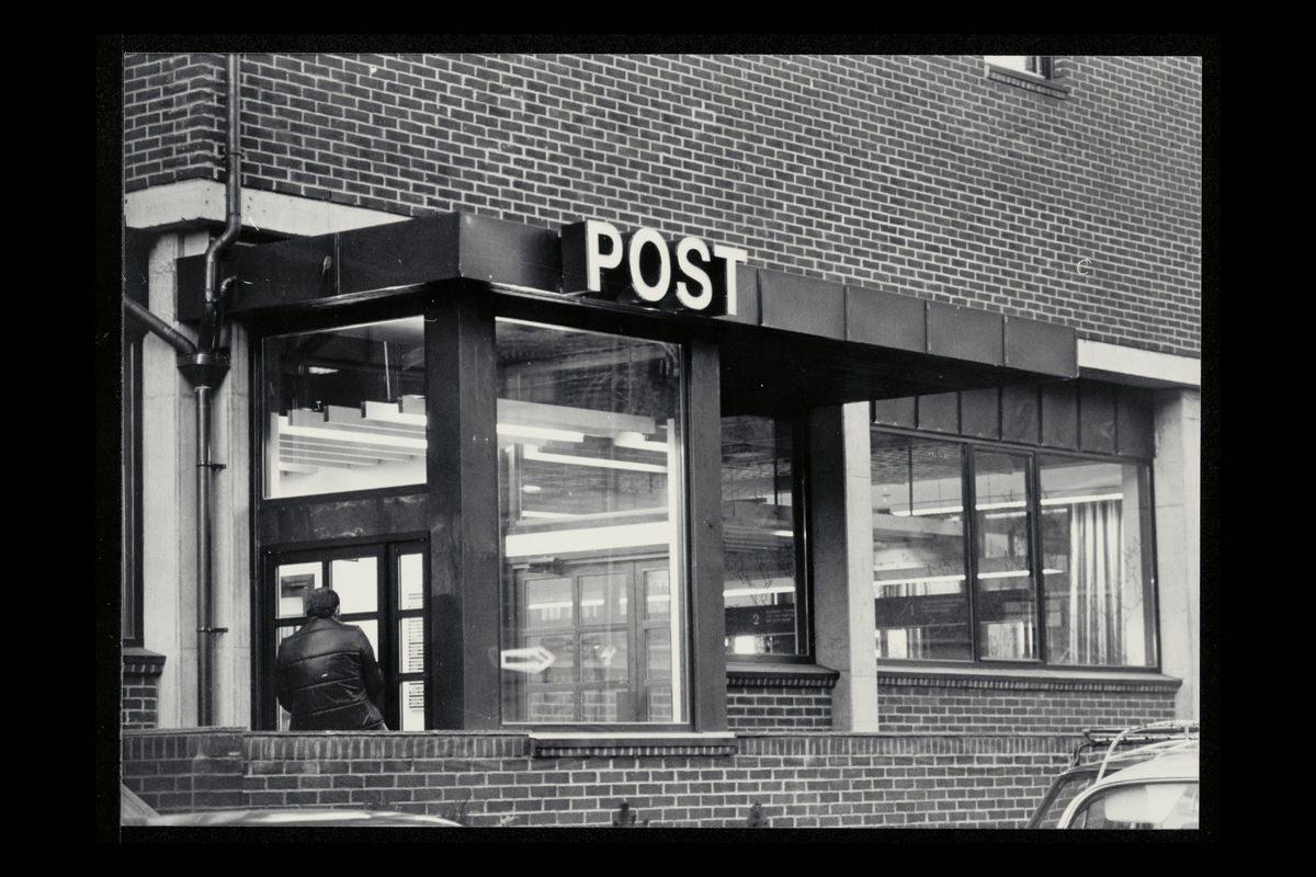 eksteriør, postkontor, 1750 Halden