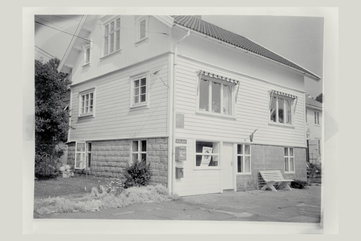 eksteriør, postkontor, Åvik, postskilt, postkasse
