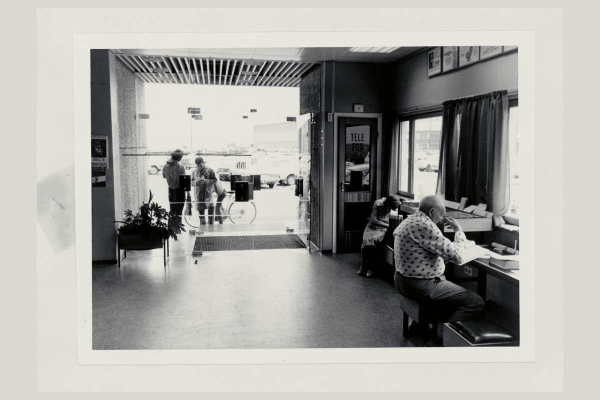 interiør, postkontor, 3080 Holmestrand, kunder
