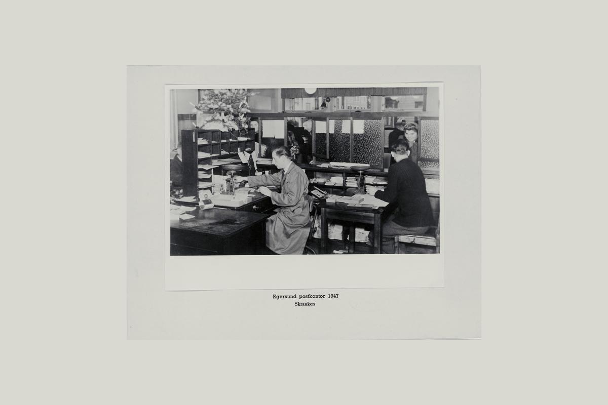 interiør, postkontor, 4370 Egersund, ekspedisjon, ekspeditør, kunder, vekt