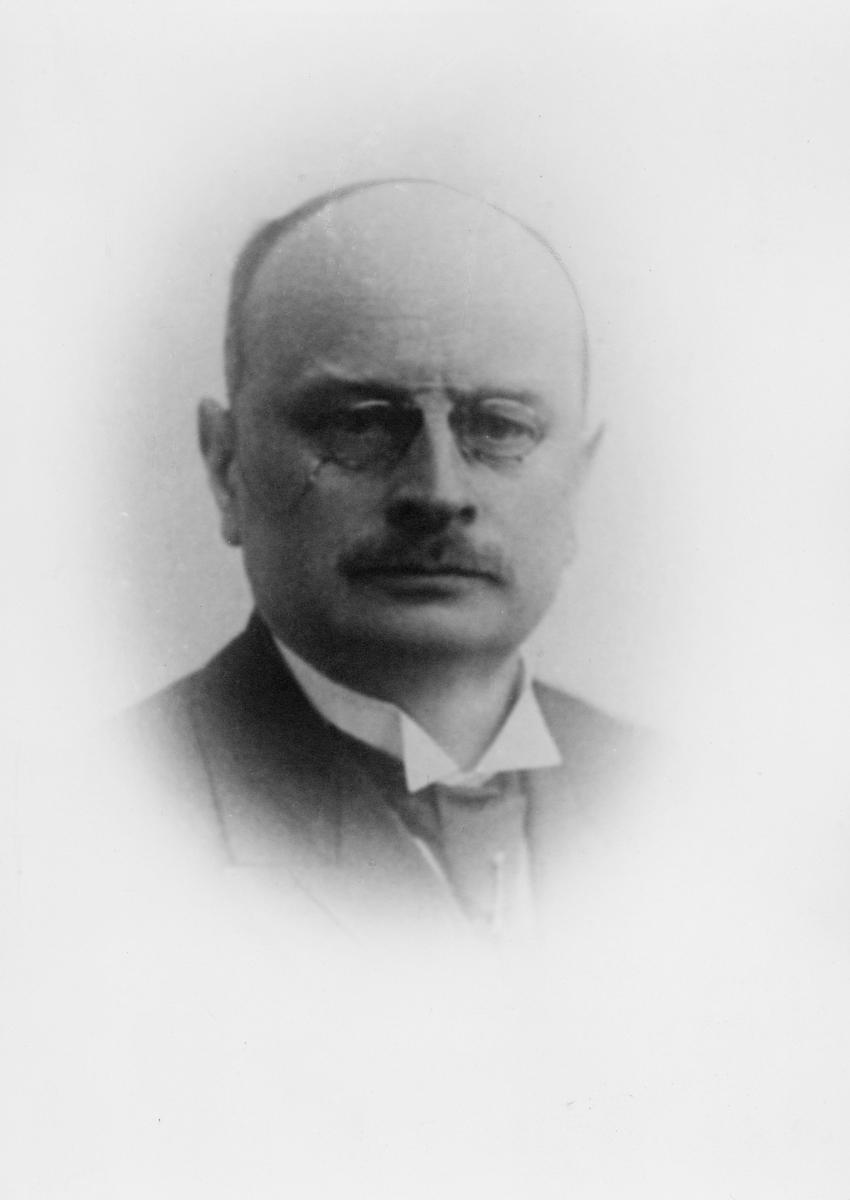portrett, postmester, Jørgen Andersen Hustvedt