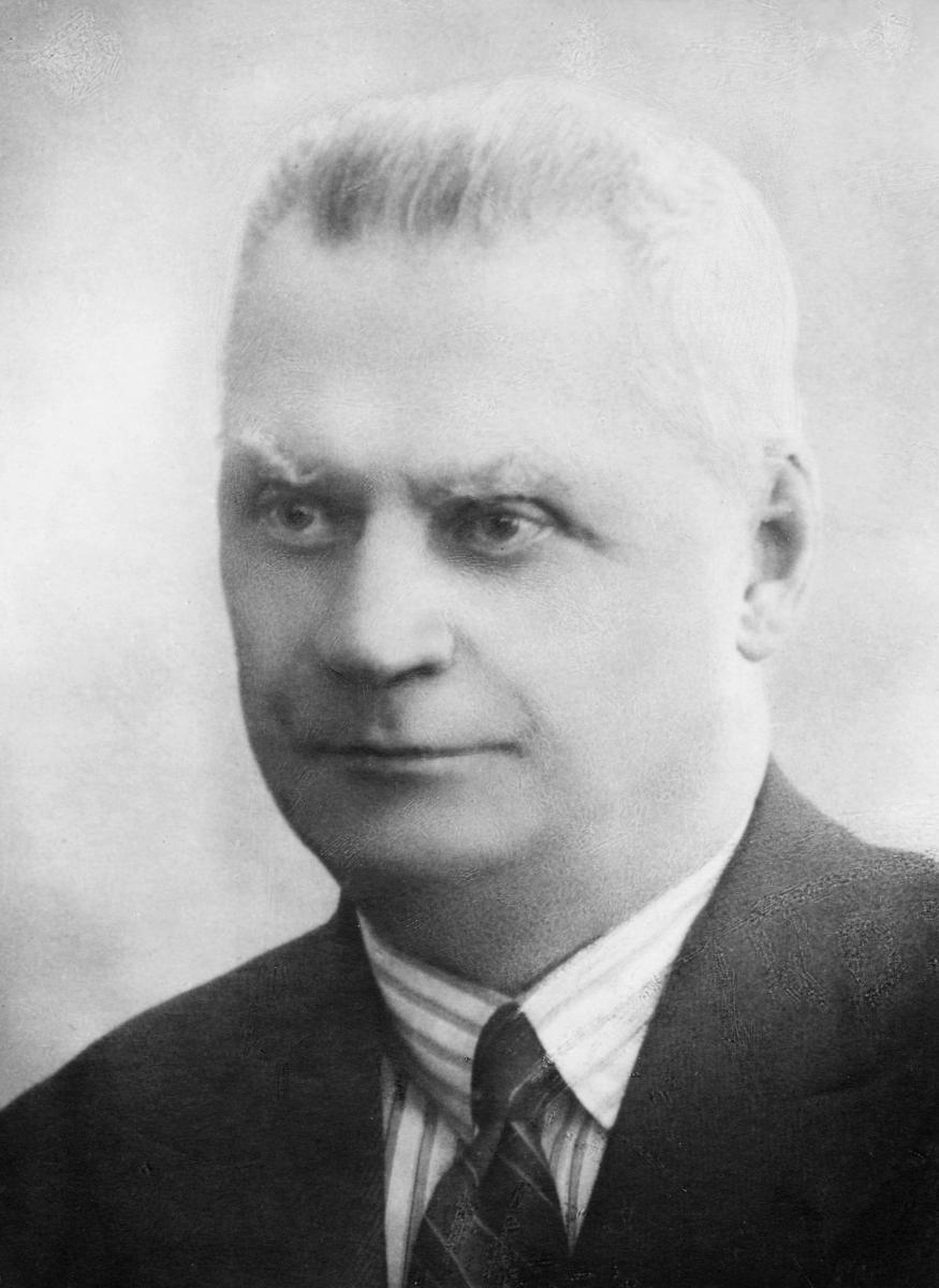 portrett, postmester, Johannes Andreas Strøm
