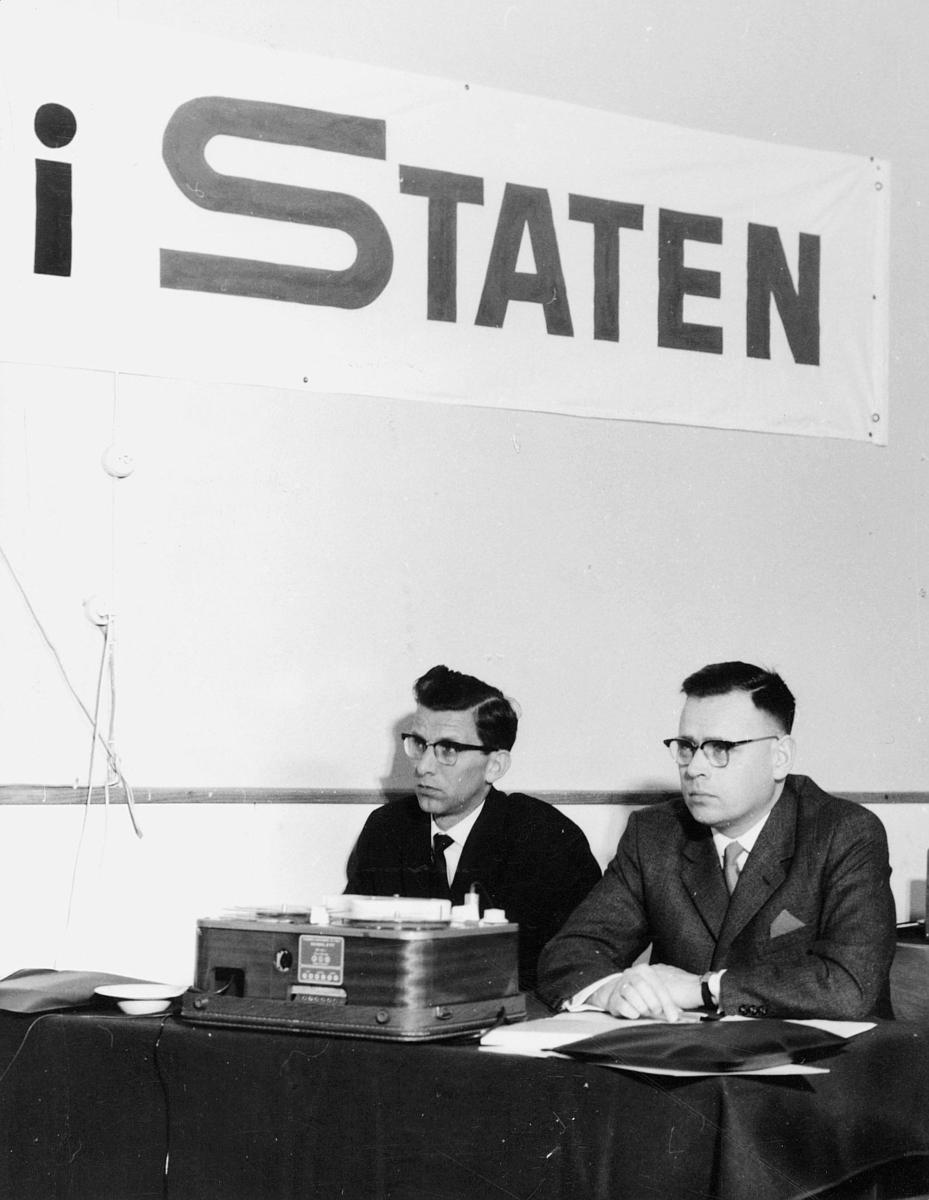 gruppebilde, Oslo, Personalutvalgets innstilling, to menn