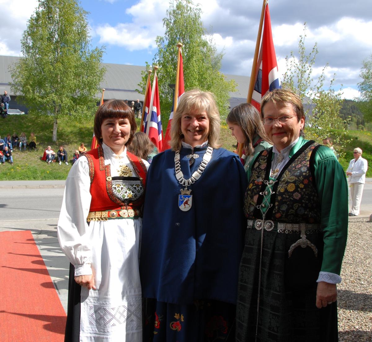 DOK:2007, Bjerkebæk, åpning, direktør, ordfører, fylkesmann,