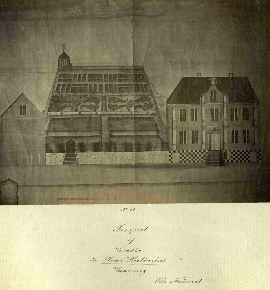 Prospekt av Hans Herløvsøns hus