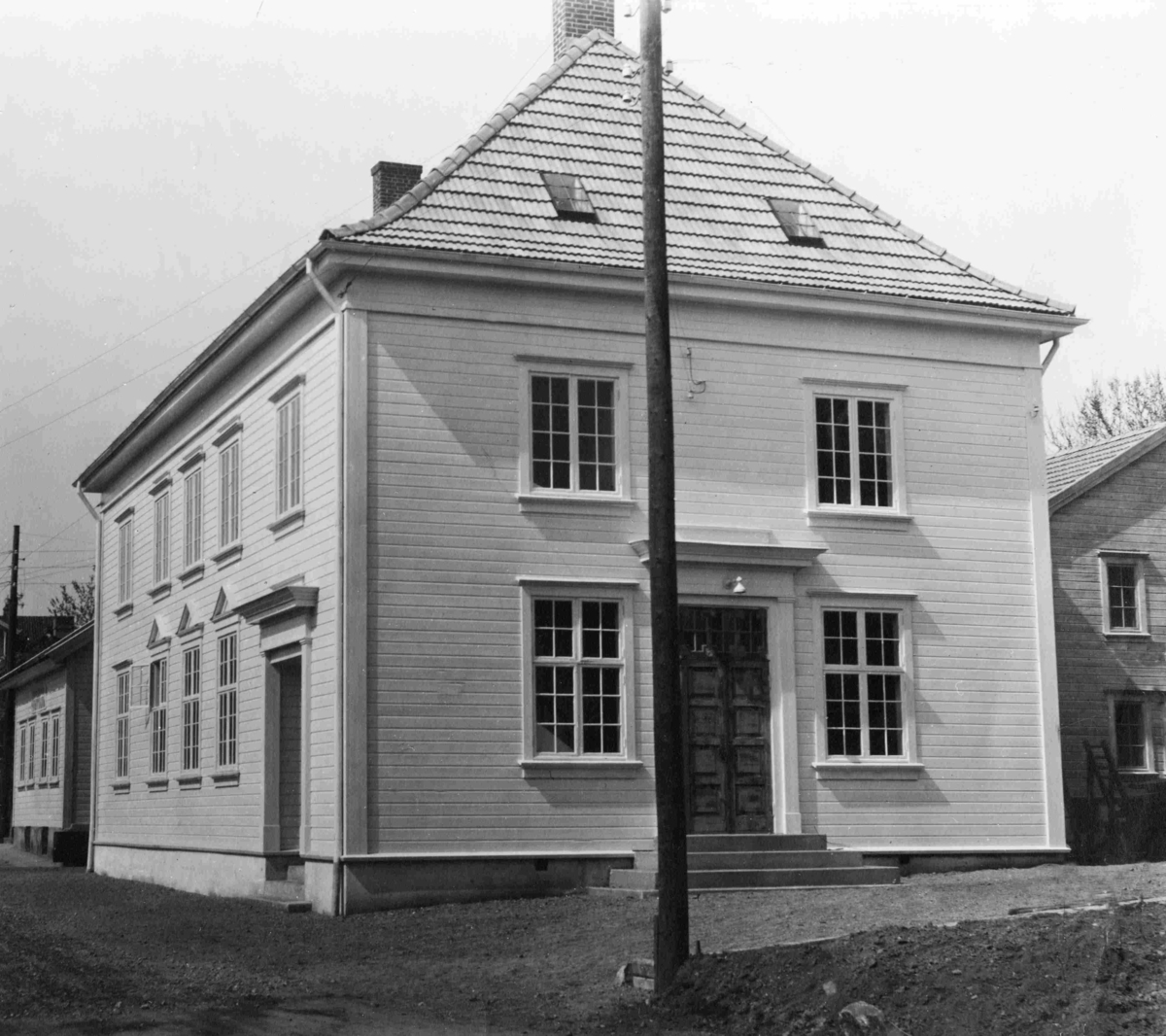 Vestre Moland kommune sitt herredshus på Lofthus