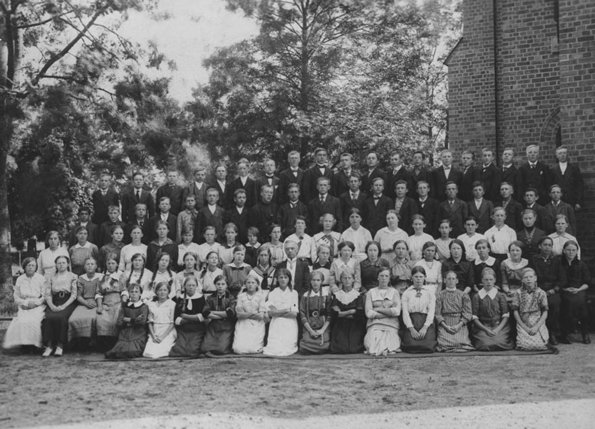 Ås kirke, konfirmasjon 1914