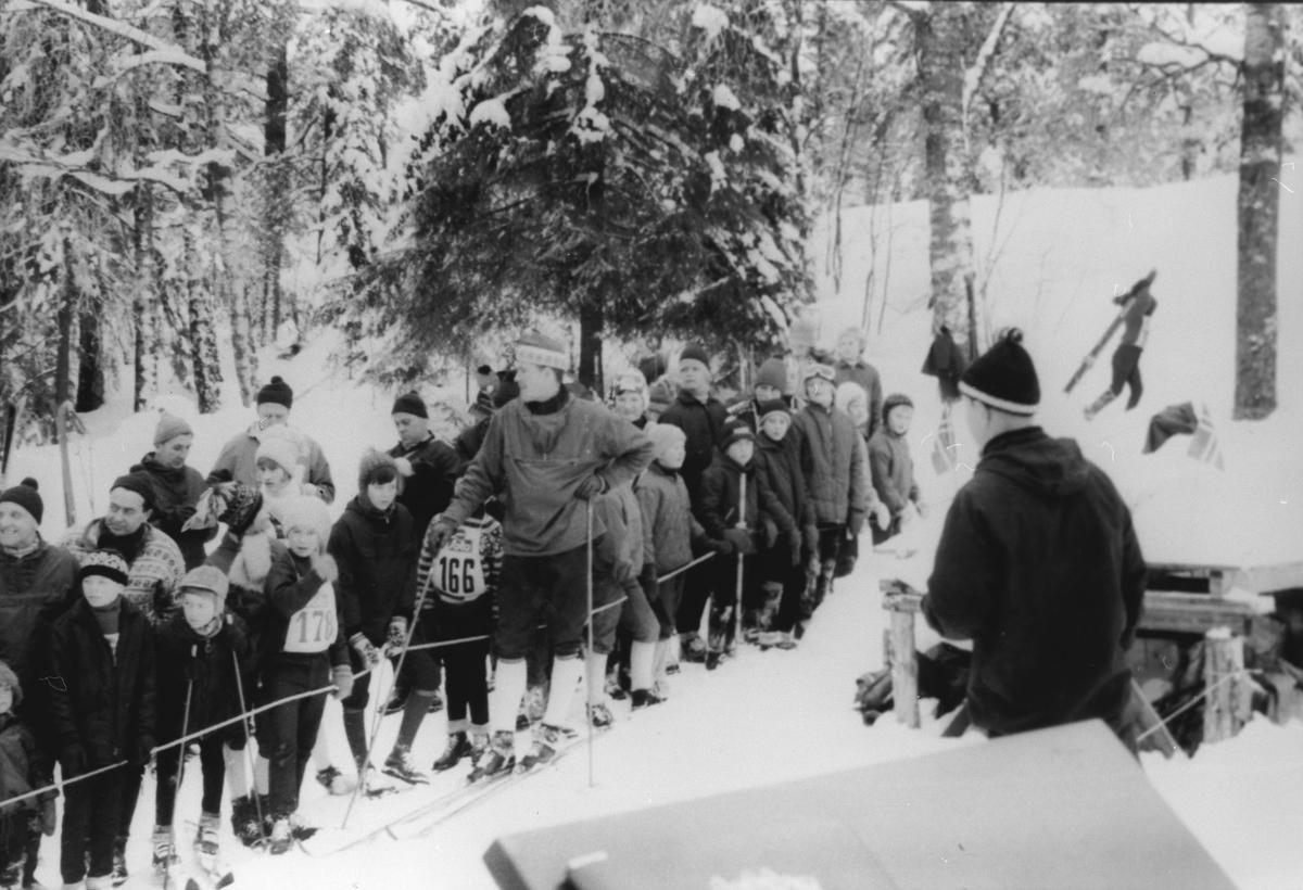 Hopprenn i Brattlikollen ca. 1963