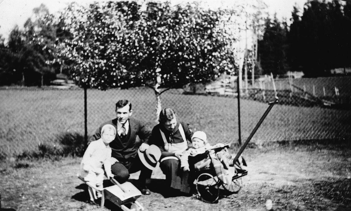 Familien Gjørvad på Fredheim skole