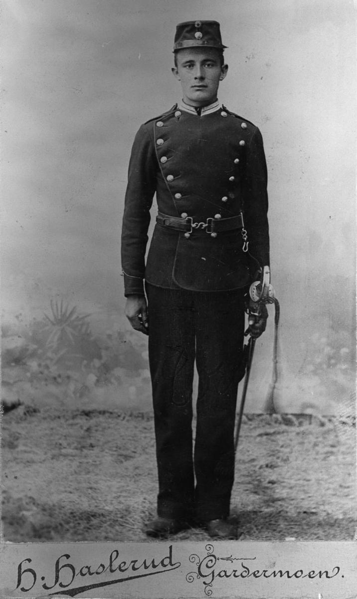 Søren Grøndahl i det militære. F.1878 D.1953.