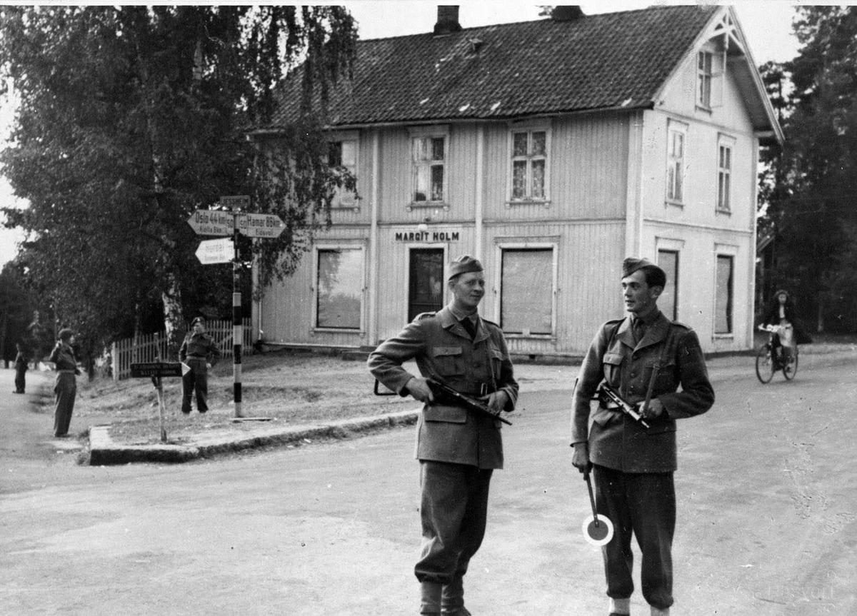 Avvæpning av tyskere.