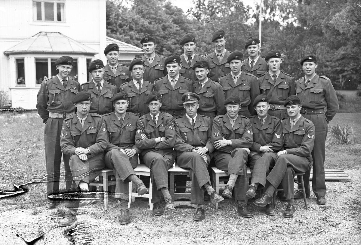 Gruppe av militære overordnede.
