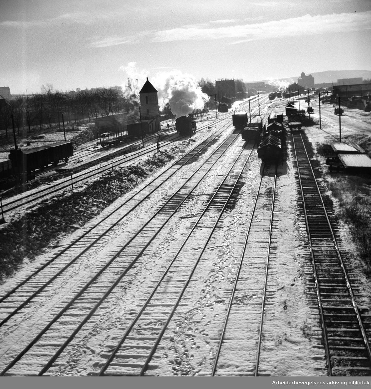 Grefsen stasjon, .oktober 1948