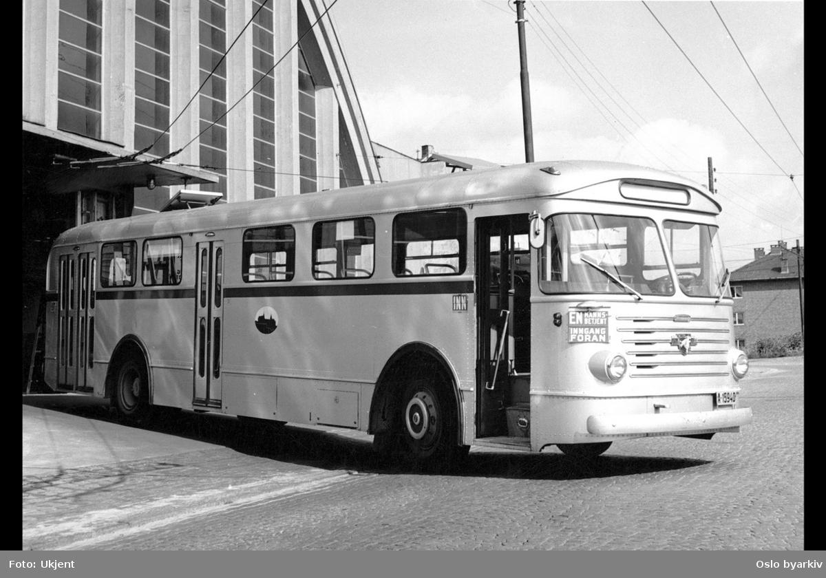 Oslo Sporveiers buss, A-15901-915, Strømmen/Leyland 1959