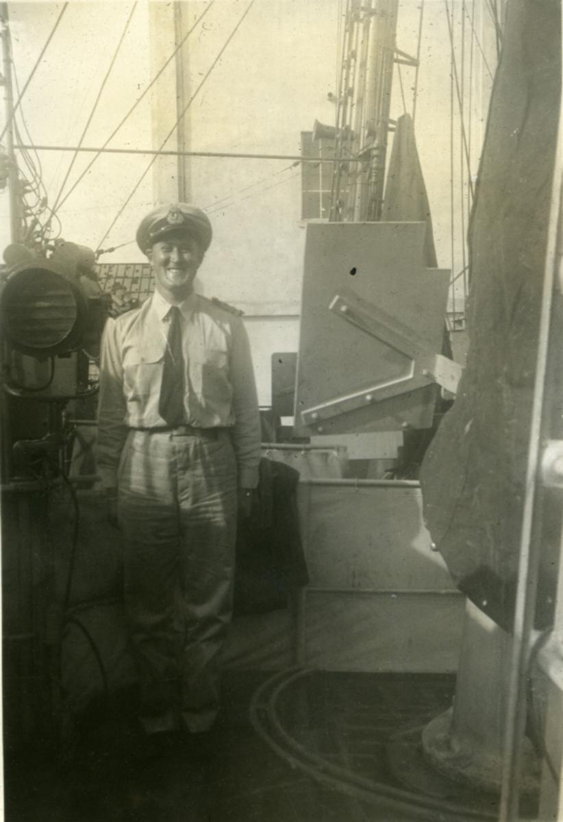 Album Ubåtjager King Haakon VII 1942-1946 Hegna.