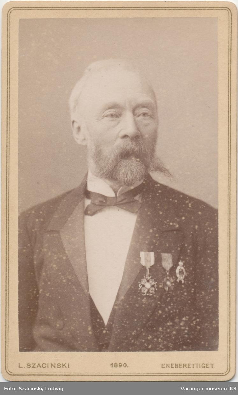 Portrett, konsul Lauritz Lassen Brodtkorb, ca. 1900