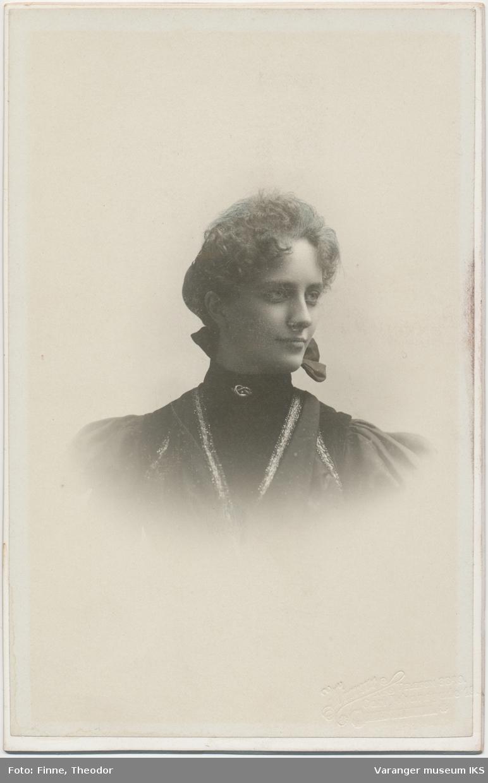 Portrett, Annie Mack, ca. 1900