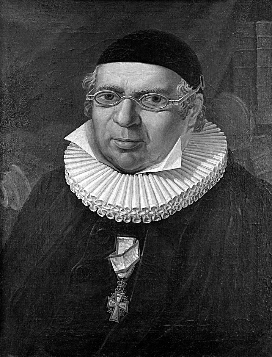 MALERI, ABRAHAM PIHL, 1756-1821, VANG KIRKE