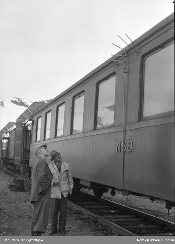 Profilvognkjøring på Bergensbanen : profilkjøring