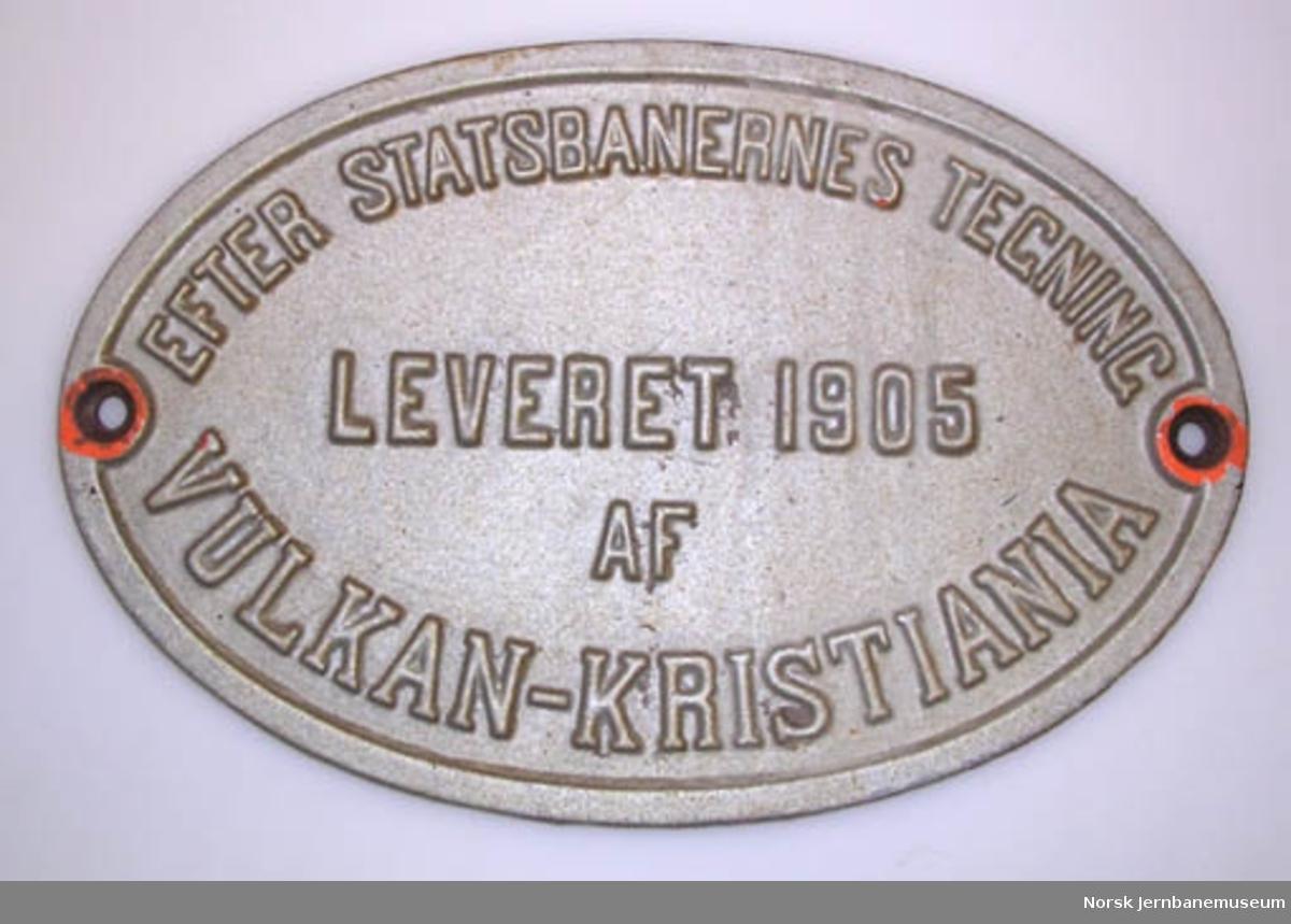 Fabrikkskilt fra Vulkan, Kristiania : fra bru