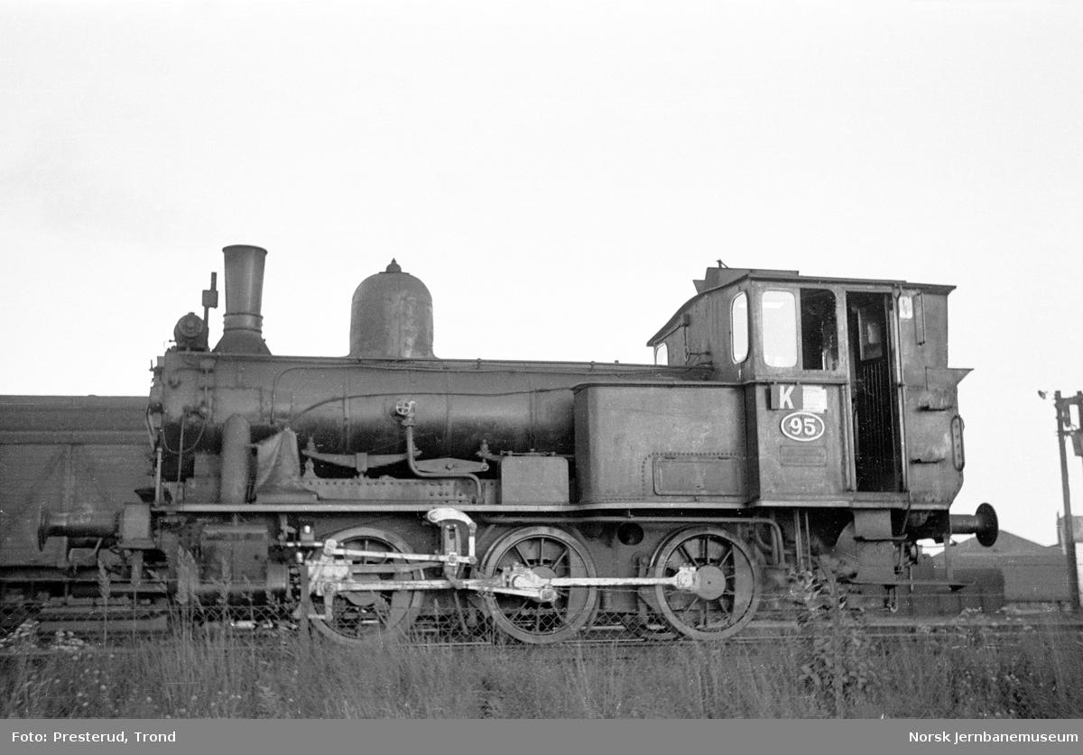 Damplokomotiv type 43a nr. 95