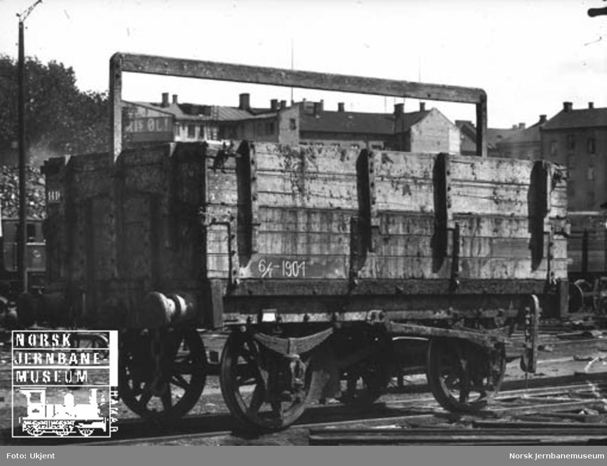 Hovedbanens kassevogn litra L nr. 1416