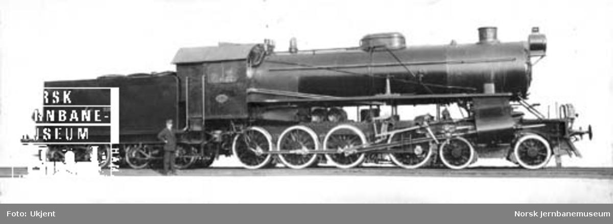 Damplokomotiv type 31a nr. 320