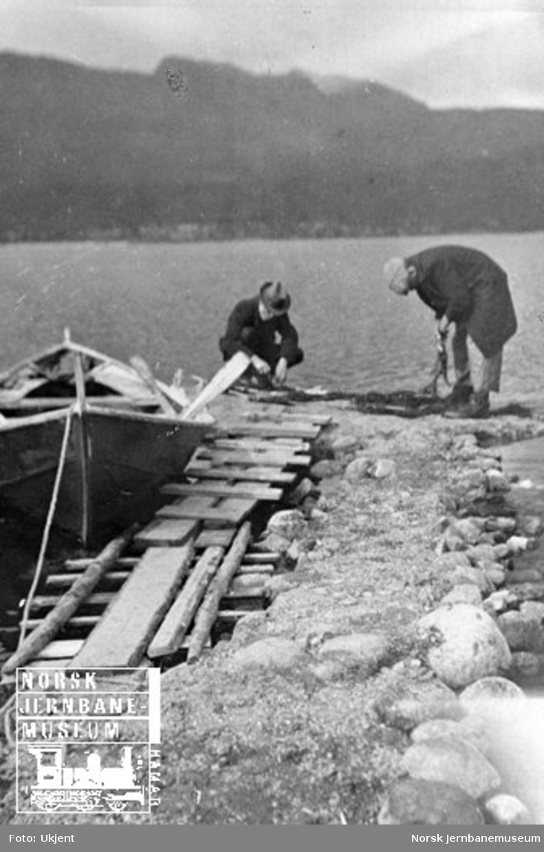 Familiebilder fra Tynset : fisking