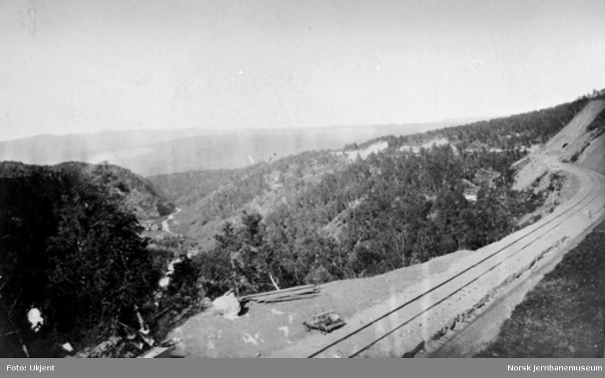 """Jernbanen mellom Rugldalen og Reitan; Vongraven (""""Vanggraven"""")"""