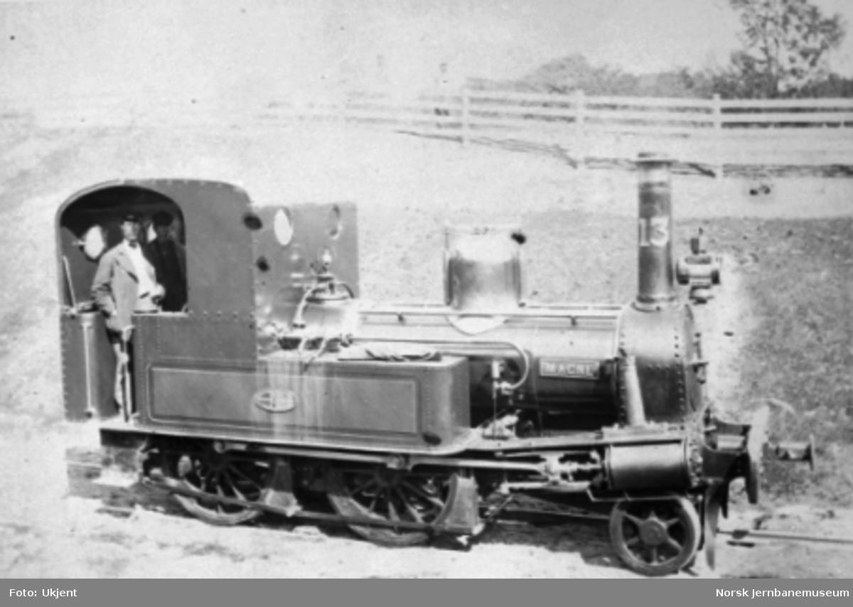"""Damplokomotiv type III nr. 13 """"Magne"""""""