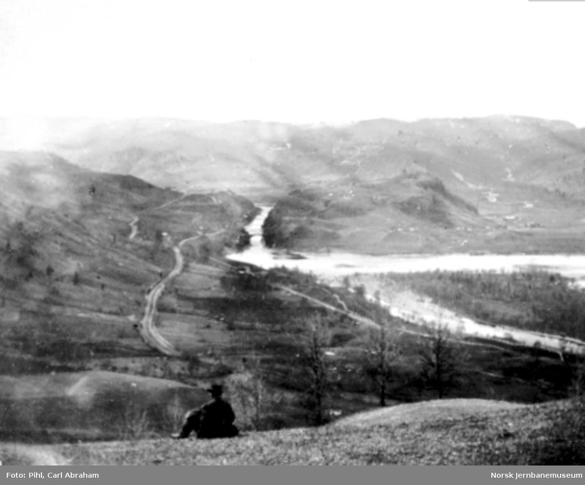 Gulfossen fotografert fra Bredli