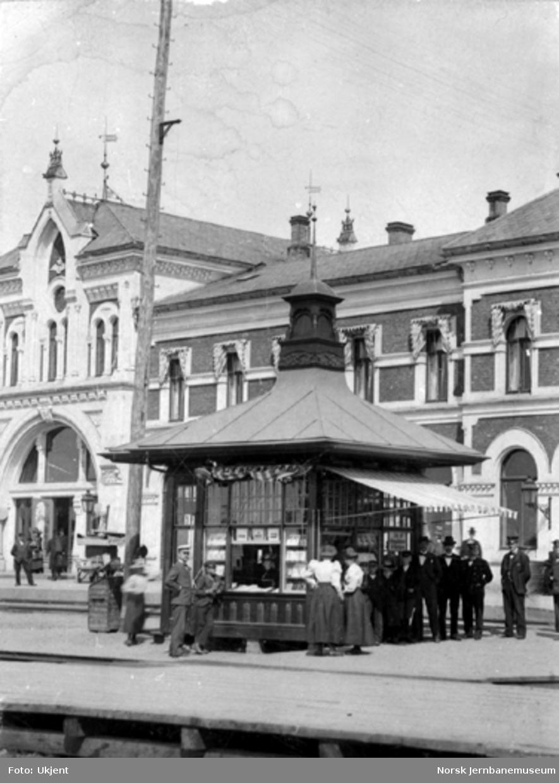 Stasjonskiosken på Hamar stasjon