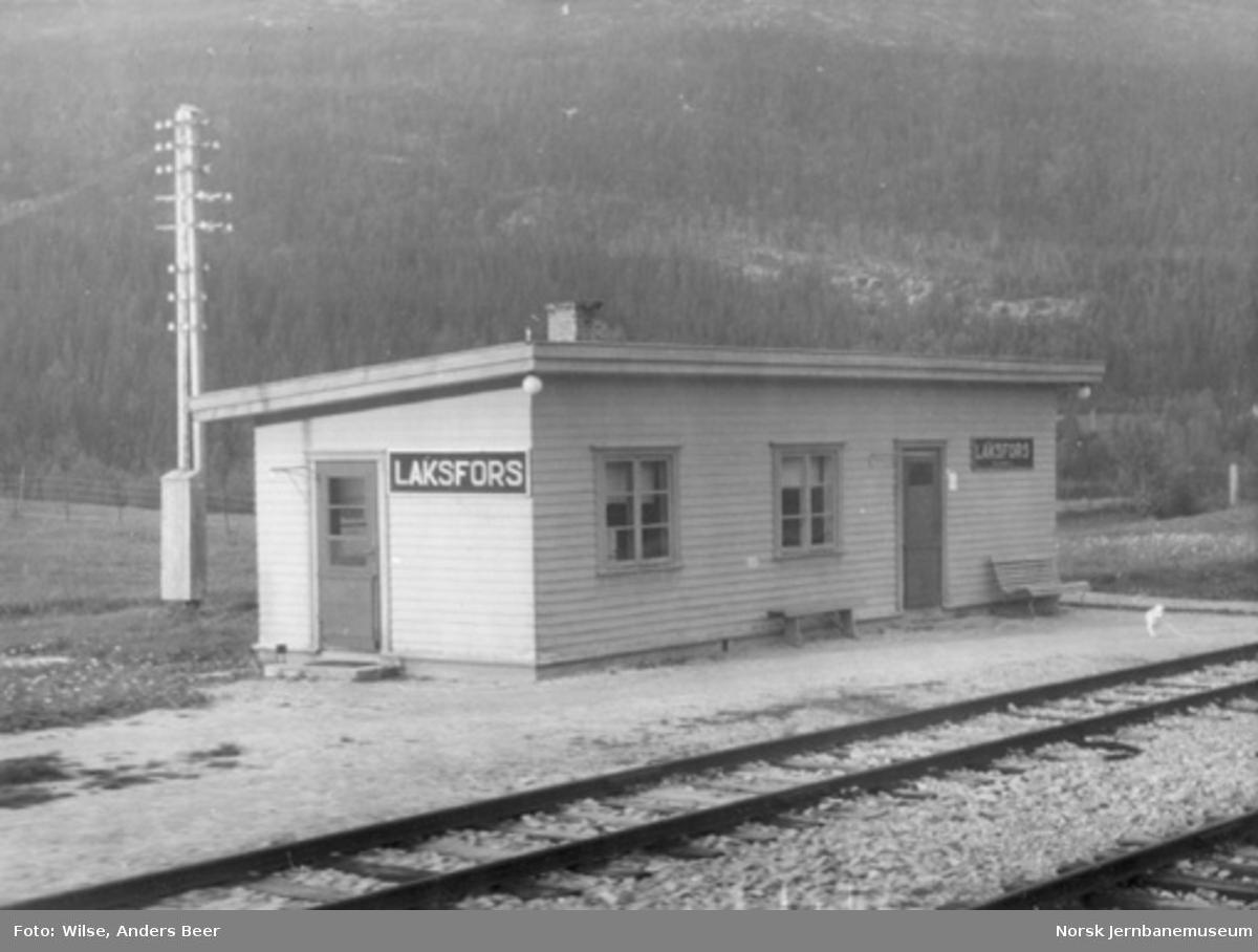 Laksfors stasjon