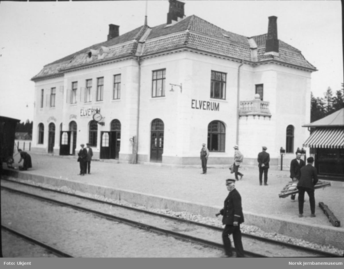 Elverum stasjon : ny stasjonsbygning