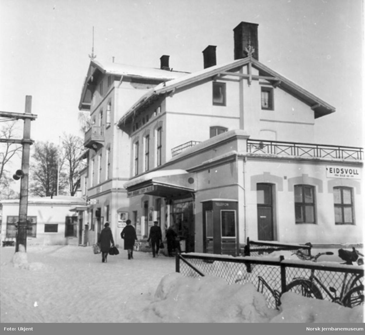 Eidsvoll stasjonsbygning