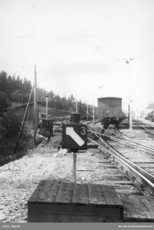 Roa stasjon : sporvekselsignal