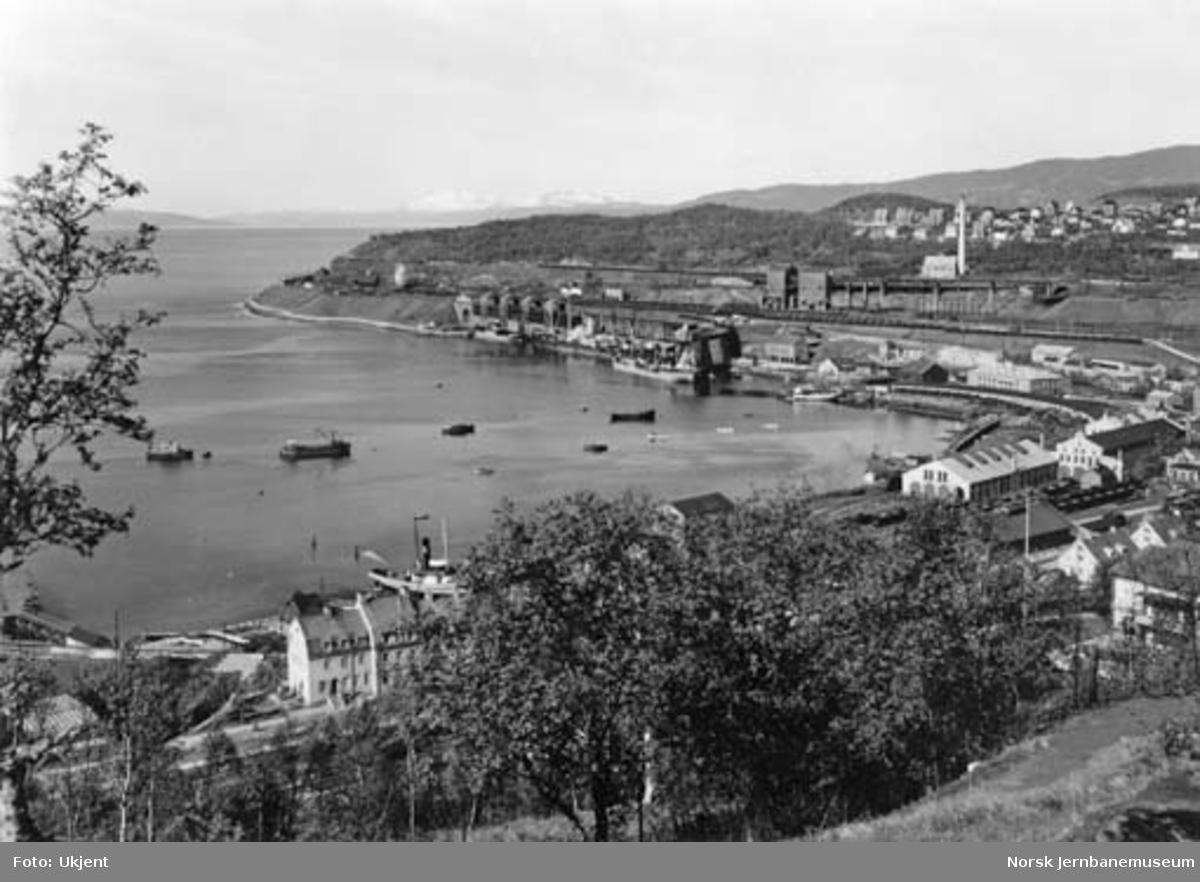 LKABs anlegg i Narvik