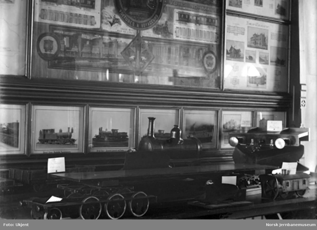 Jernbanemuseet på Hamar stasjon : Fra utstillingen