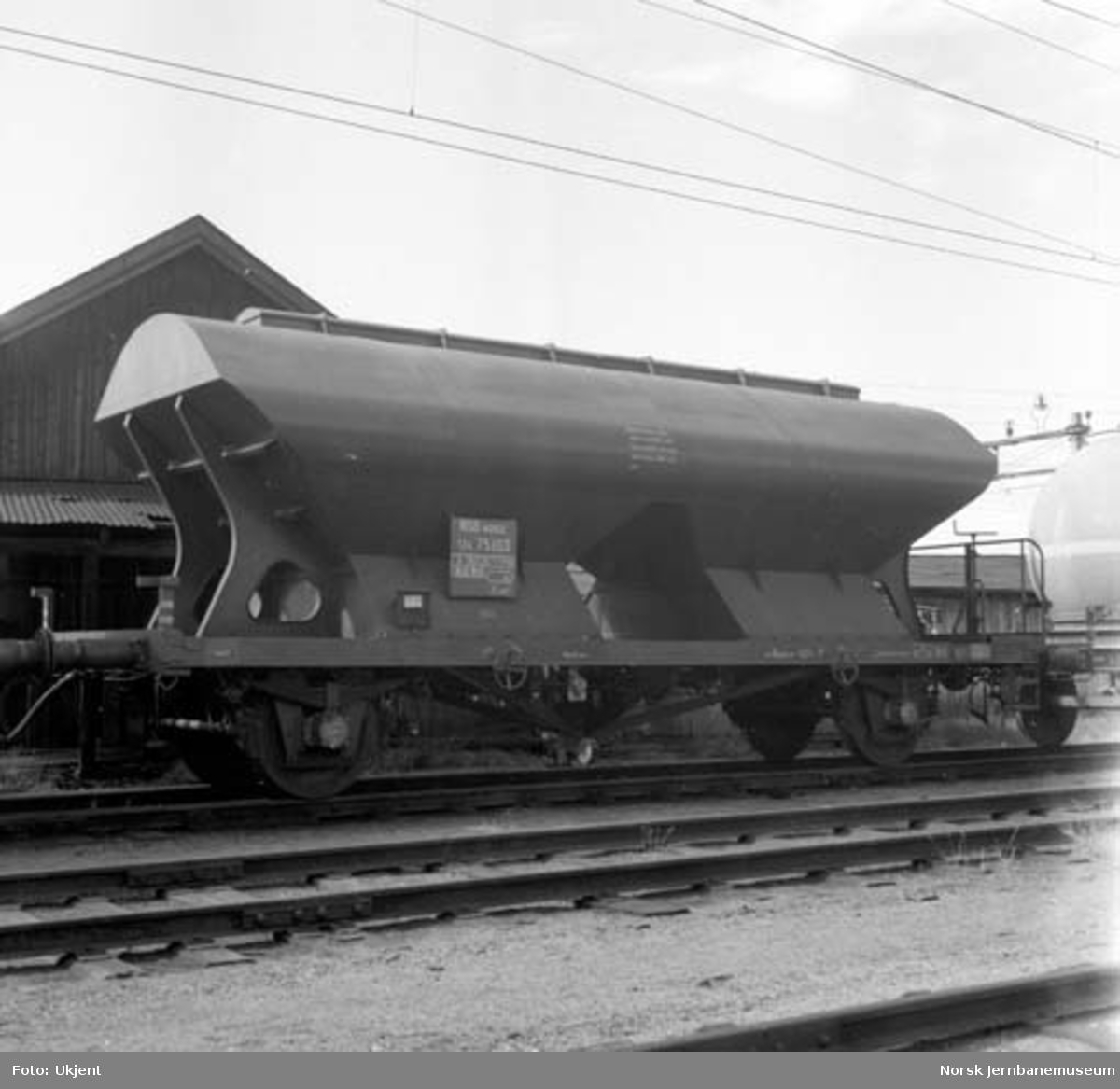 Godsvogn litra U4 nr. 75103